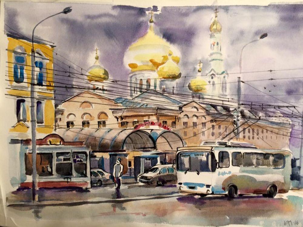 Набор открыток с видами старого Ростова-на-Дону кисти Ирины Мотыкальской можно будет приобрести во время ЧМ по футболу.