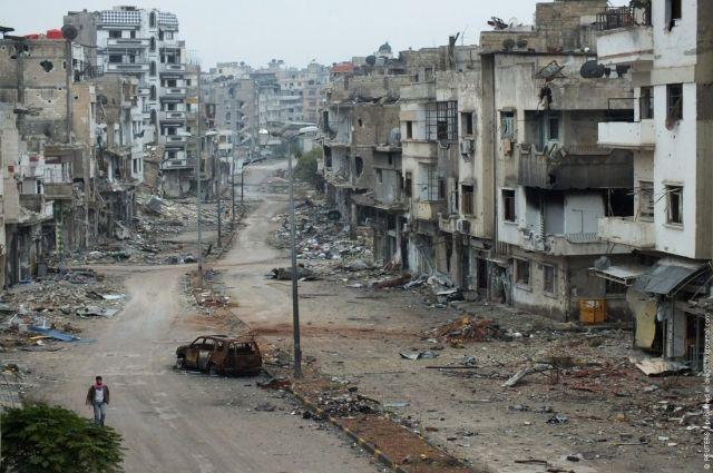 Боевики обстреляли гуманитарный коридор иполучили ответ своздуха