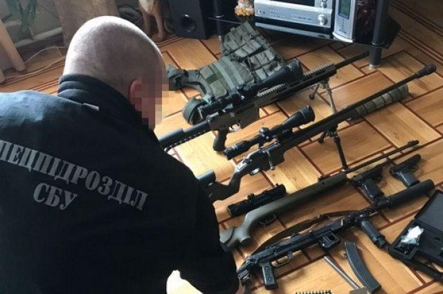 В Одессе СБУ провела масштабную операцию по изъятию огнестрельного оружия