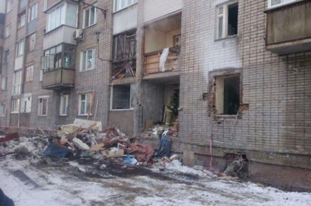 Пострадавший отвзрыва дом наНародного ополчения восстановят позже срока