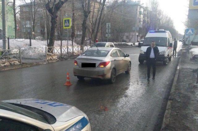ДТП с пострадавшим школьником произошло на днях на улице Ким.