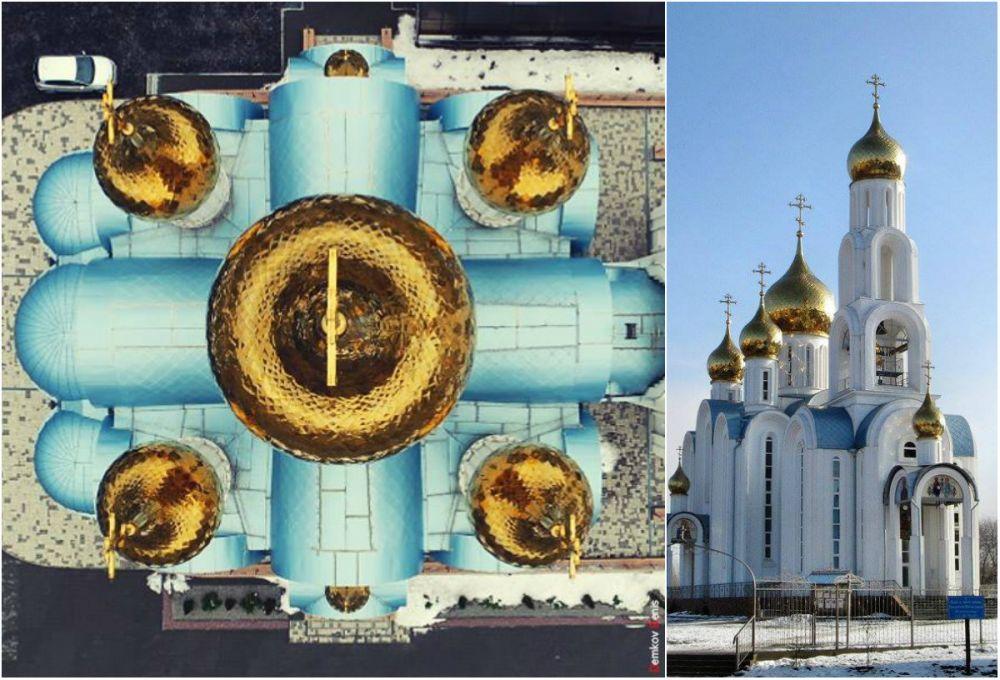 Донские православные храмы с высоты птичьего полёта по просьбе «АиФ-Ростов» запечатлел Денис Демков.