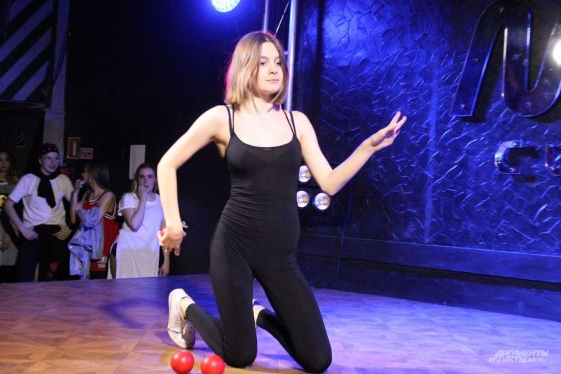 Гимнастика и жонглирование