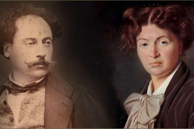 Дюма был нежно привязан к Надежде, но их связь была мучительной для двоих.