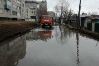 В круглосуточном режиме велась откачка воды в городе