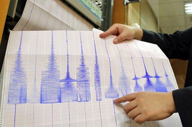 Кюго-востоку отпобережья Японии случилось сильное землетрясение