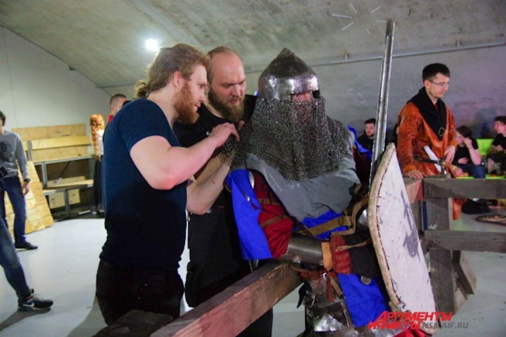Впервые на «Вызове» были представлены бои в рамках реконструкции Раннего Средневековья (9-11 век)