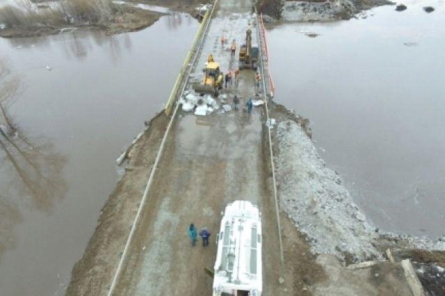 МЧС: автомобильное движение на трассе «Оренбург - Самара» вновь открыто.