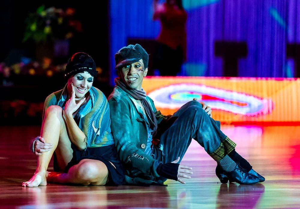 """В дисциплине """"секвей"""" парам нужно было не только исполнить танец, но и рассказать историю."""