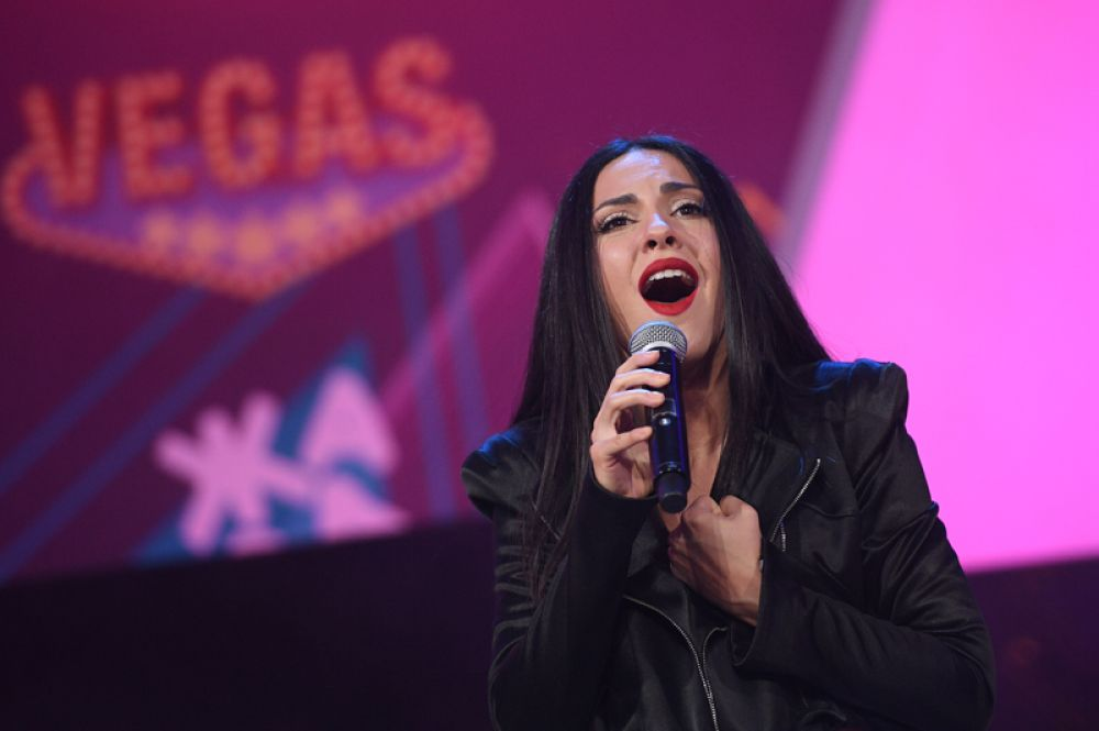 Певица Айсель Мамедова, которая будет представлять Азербайджан на предстоящем конкурсе.