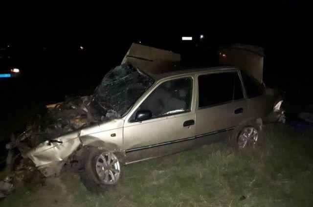 Лишенный прав шофёр разбился насмерть