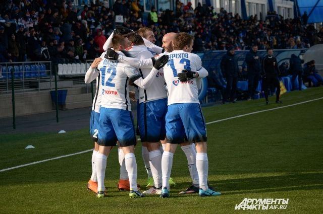 ФК «Оренбург» на выезде с минимальным преимуществом обыграл «Химки».