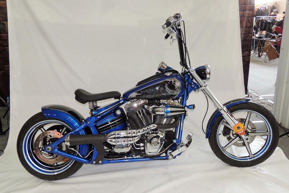 Снова Harley-Davidson.