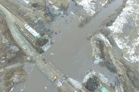 Паводок-2018: в Оренбуржье подтоплены уже 17 низководных мостов.