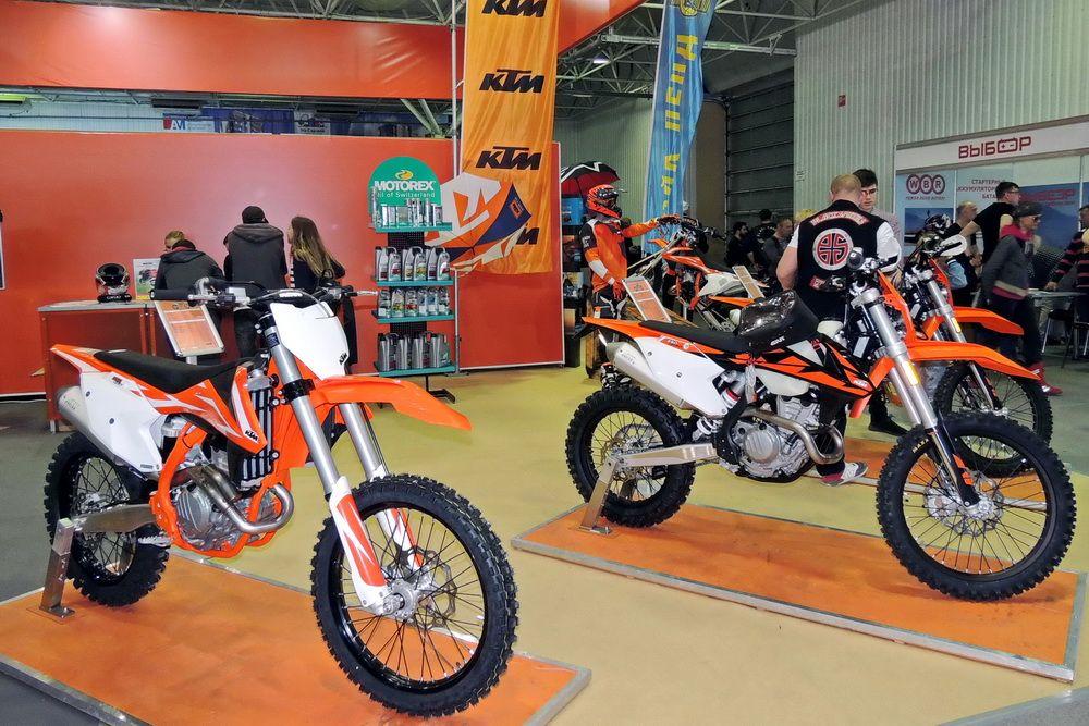 Кроссовые мотоциклы KTM.