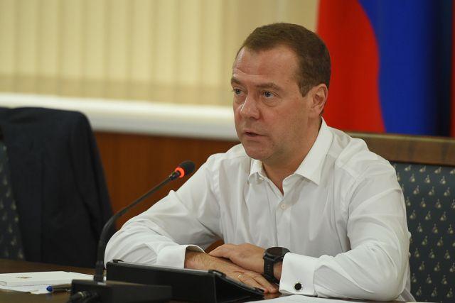 Медведев пообещал увеличить пособия поуходу за сыном