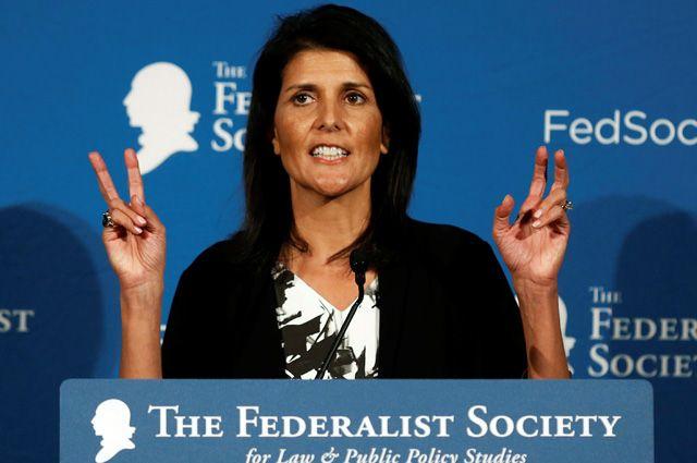 Хейли охиматаке вСирии: США отреагируют влюбом случае