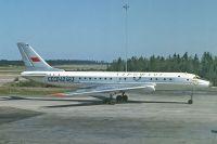 Ту-104А авикомпании «Аэрофлот».