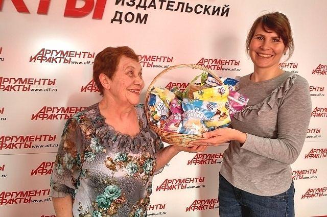 Победители получили призы от спонсоров конкурса.