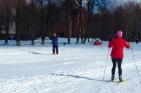 Региональные соревнования по лыжным гонкам завершились на Ямале марафоном