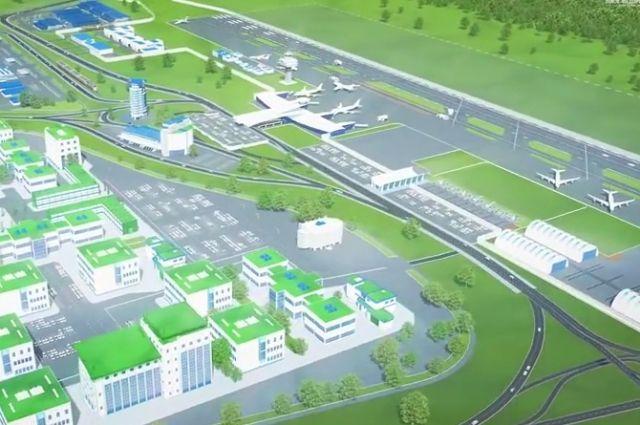 Охранники будут следить за объектами недостроенного аэропорта.