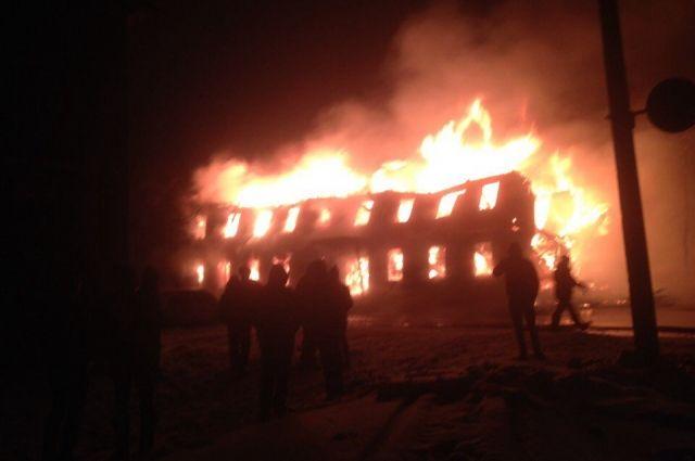 Пожар случился 3 апреля.