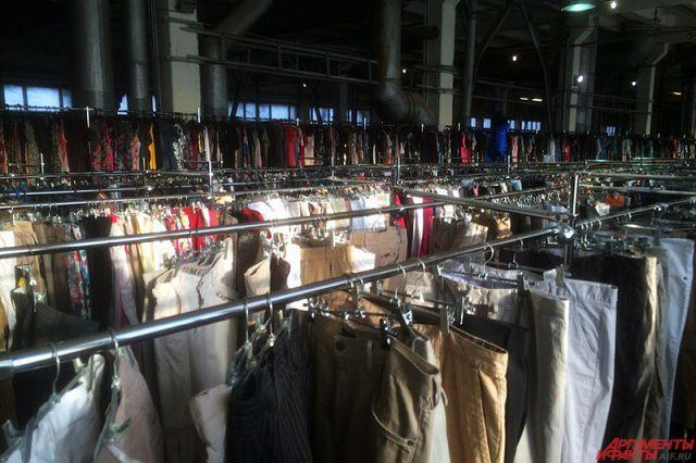 Одежда и обувь у пензенцев не пользуются спросом.