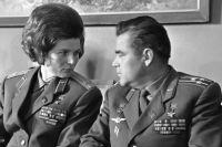 Валентина Терешкова и Андриян Николаев, 1969 г.