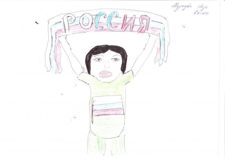 Мурадова Айза, 12 лет, Курский район