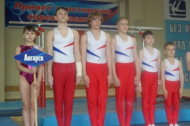 Ангарские гимнасты.