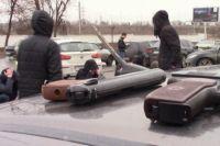 В Оренбурге изъято около 10 единиц огнестрельного оружия.