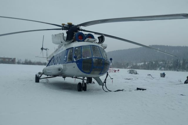 На Ямале задерживаются вылеты вертолетов