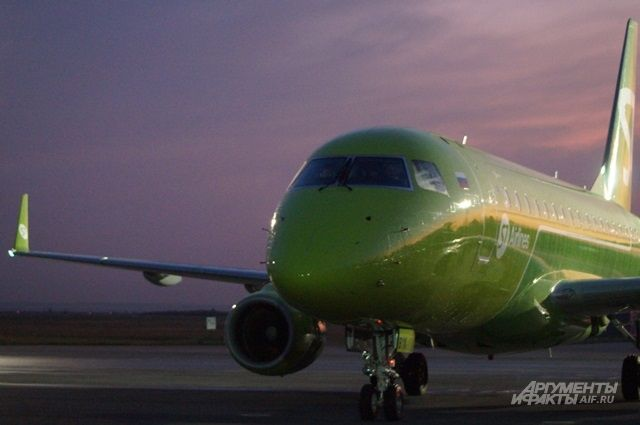 Полеты будут осуществляться на воздушных судах «Эмбраер-170».