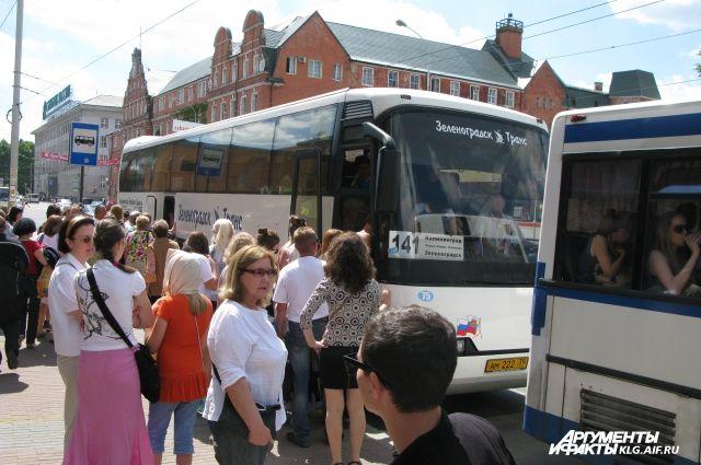В дни тестовых матчей продлевается работа пригородных автобусов.