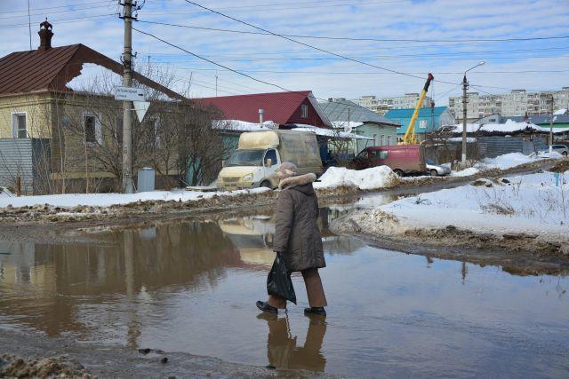ВКайбницком районе подтопило три дома