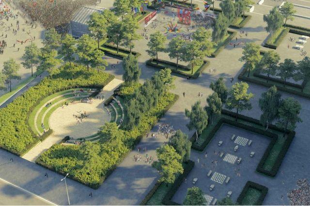 Такой эспланаду видят авторы проекта реконструкции главной городской площади.
