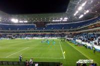На «Стадионе Калининград» прошел первый тестовый матч.