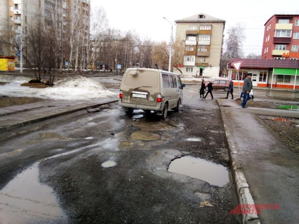 Улицы Новосибирска нуждаются в качественном ремонте.