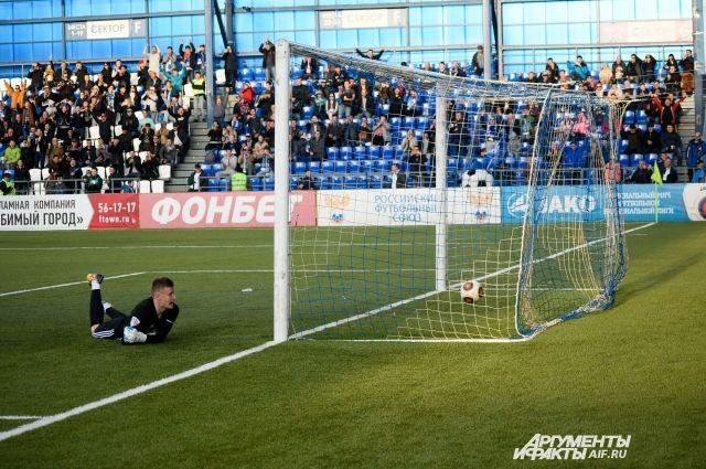 «Оренбург» со счетом 3:0 на своем поле разгромил клуб «Волгарь».