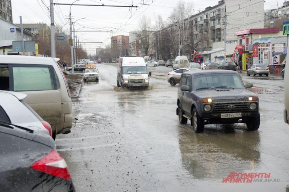 На Затулинском жилмассиве такая же ситуация.
