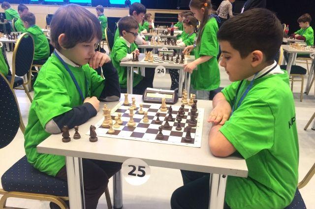 В играх участвуют дети из промышленных городов края.
