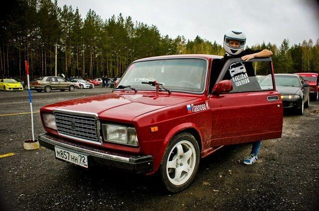 Ирина Павлова и ее автомобиль