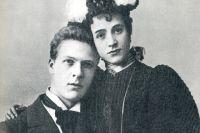 Федор Шаляпин с женой.