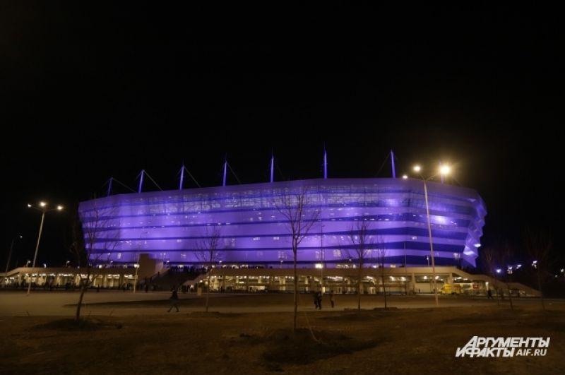 Торжественное открытие «Стадиона Калининград» запланировано на 12 мая.