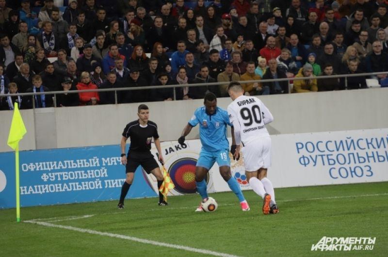 Сенин Себаи  - автор первого гола на «Стадионе Калининград».