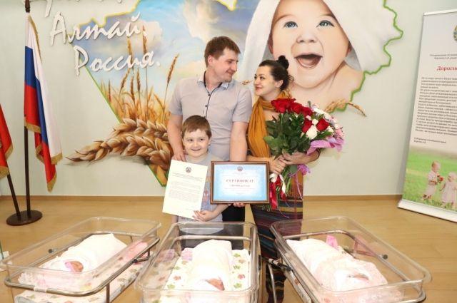 Тройняшки родились в перинатальном центре
