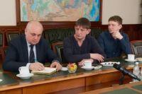 Врио губернатора Кемеровской области встретился с кузбасскими фермерами.
