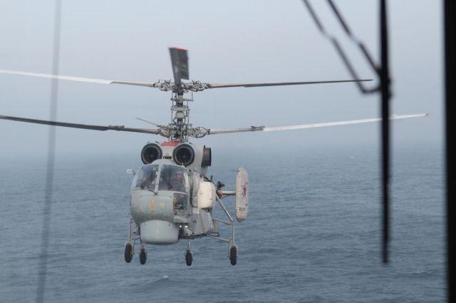 Военный вертолет Ка-27.