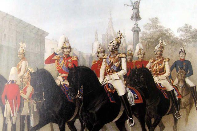 От стрельцов до казаков. Кто и как охранял русских царей?