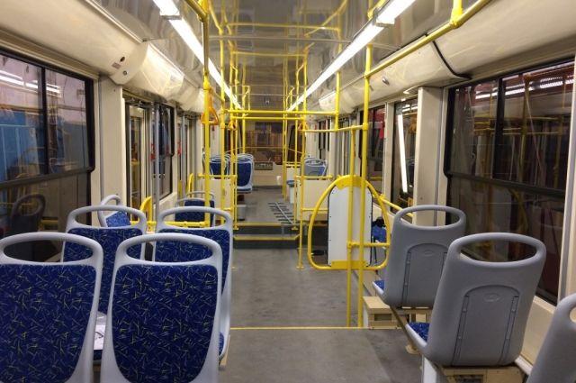 ВВолгограде налинию СТ-2 вышли новые трамваи